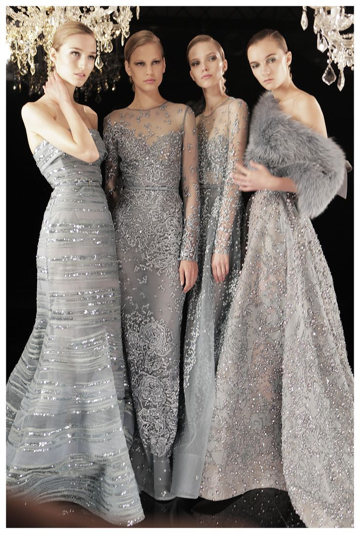 Gray Bridesmaids