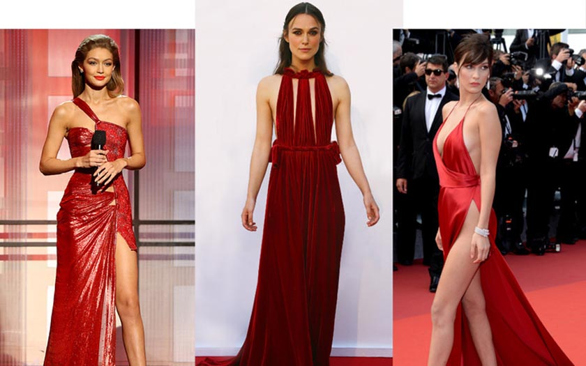 Red Dresses Inspirations for Valentine's Day