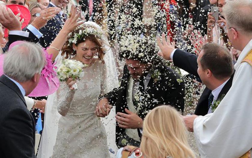 Pictures from Kit Harington & Rose Leslie Wedding