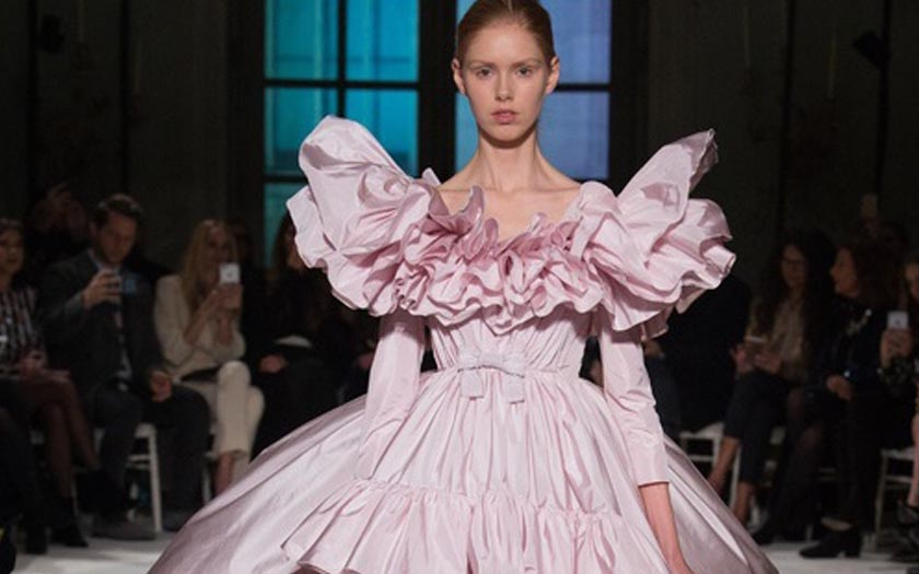 Trend Alert! - Pretty in Pink: The Wedding Gown Trend