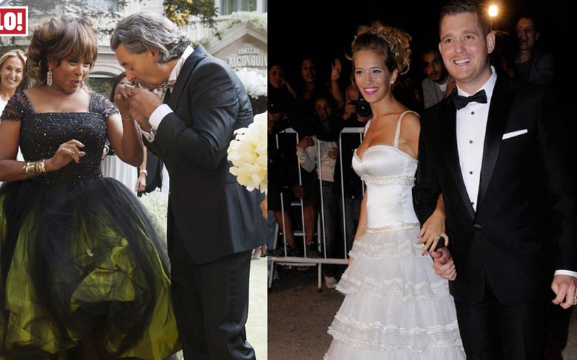 The Ugliest Celebrity Wedding Dresses Ever