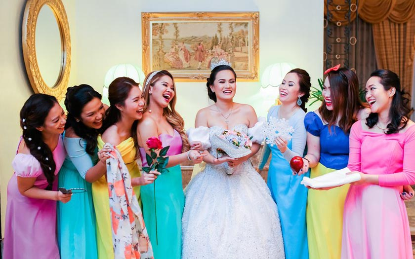 A Disney themed wedding that is every girl's dream