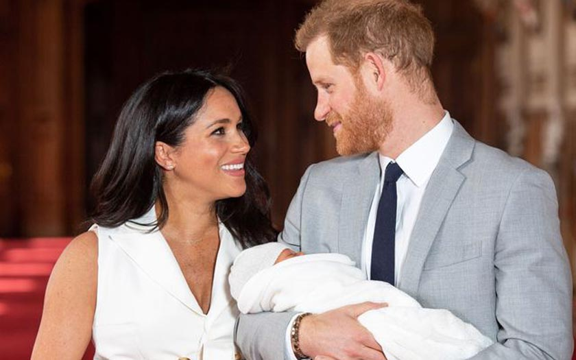 7 Ways Meghan Markle and Prince Harry's baby made Royal History